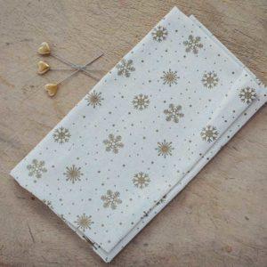 Gold-Christmas-Snowflake-Fabric