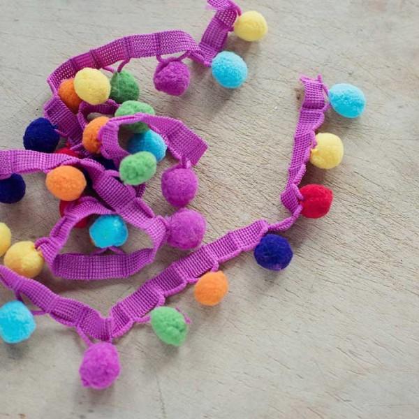 Multicoloured-Pompom-Trim