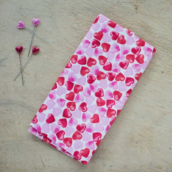 Loving Hearts Cotton Poplin