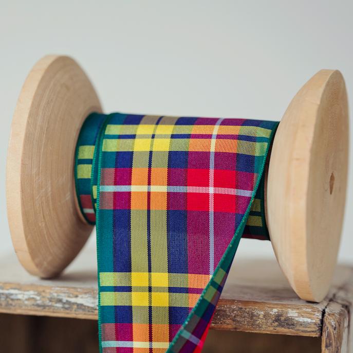 Tartan-fabric-article-tartan-ribbon